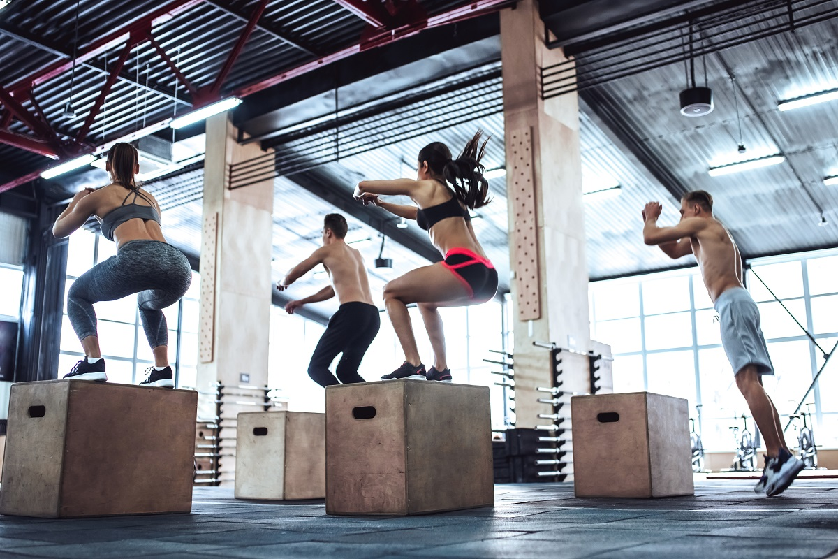 Plyobox Box Jump*
